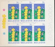 2000 Europa CEPT bélyegfüzet Mi MH 0-3 (363)