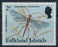 Spiders and insects stamp with year, Pókok és rovarok évszámos bélyeg