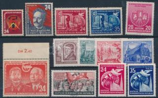 1951-1953 2 klf sor + 6 klf önálló érték