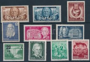 1954-1955 3 klf sor + 4 klf önálló érték