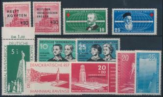 1956-1957 4 klf sor + 3 klf önálló érték