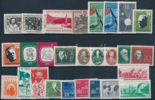 1957-1959 10 klf sor + 5 klf önálló érték