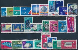 1966-1974 10 klf sor + 2 klf önálló érték