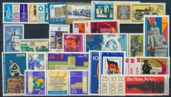 1967-1973 10 klf sor + 4 klf önálló érték
