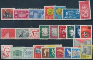 1957-1960 8 klf sor + 8 klf önálló érték