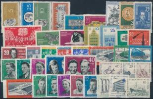 1960-1961 12 klf sor + 2 klf pár + 3 klf önálló érték