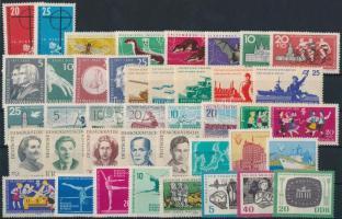 1961-1962 12 klf sor + 2 klf önálló érték