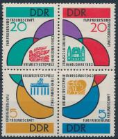 1962 Ijfúsági ünnepi játékok négyestömb Mi 901-904