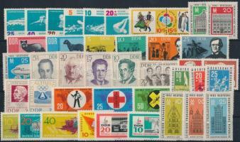 1961-1963 11 klf sor + 1 pár + 3 klf önálló érték