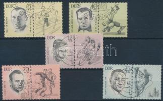 1963 Sport szelvényes sor Mi 958-962
