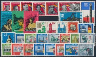 1964-1966 4 klf sor + 5 önálló érték