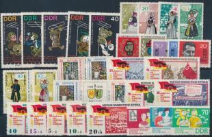 1964-1968 8 klf sor + 2 önálló érték