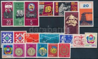 1964-1968 6 klf sor + 4 önálló érték