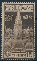 1912 A velencei Szt. Márk templom harangtornya Mi 106