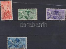 1934 Labdarúgó VB sor 4 értéke Mi 479-482