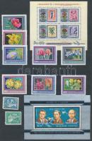 Postatiszta magyar gyűjtemény a 70-es évek elejéről, közte bélyegzett magyar és vegyes külföldi bélyegek is, 12 lapos Philux berakóban