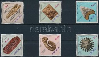 1970 Ősmaradványok Mi 563, 568-570, 573-574