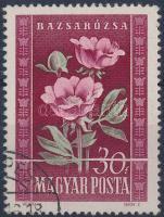 1950 Virág 30f papírráncos bélyeg