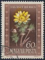 1950 Virág 60f eltolódott színnyomatok