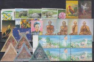 6 diff sets + 3 stamps, 6 klf sor + 3 klf önálló érték