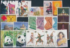 2004-2005 4 klf sor + 8 klf önálló érték, 2004-2005 4 diff sts + 8 diff stamps