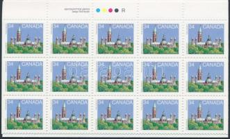 Parliament stamp-booklet, Parlament bélyegfüzet