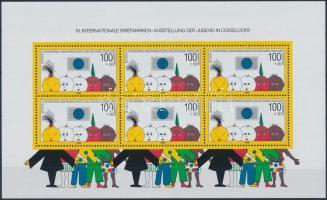 1990 Nemzetközi ifjúsági bélyegkiállítás blokk Mi 21