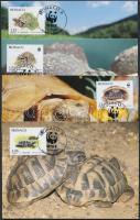 1991 WWF teknős sor Mi 2046-2049 CM