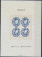1978 Lübeck emlékív