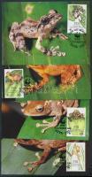 WWF Frogs set CM, WWF béka sor CM