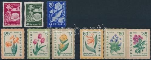 1951-1960 9 klf Virág bélyeg