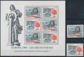 1994 Europa CEPT, Felfedezések és találmányok sor Mi 2178-2179 + blokk 63