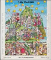 Europe Village block, Európa Falu blokk