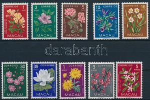 1953 Virág sor Mi 394-403