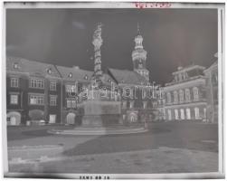 1976 Sopron, professzionális felvételek a városról, 26 db szabadon felhasználható, jogdíjmentes negatív, 6x7 cm