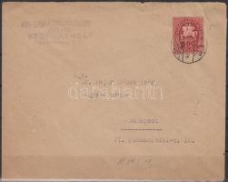 1946 (13. díjszabás) Távolsági levél Lovasfutár 500eP bérmentesítéssel