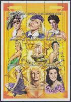 1998 Film színésznők kisív Mi 2111-2119