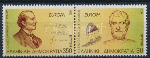 Europa Cept Discoveries and inventions set in pairs, Europa Cept Felfedezések és találmányok sor párban