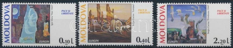 1995 Europa Cept, Béke és szabadság sor Mi 164-166