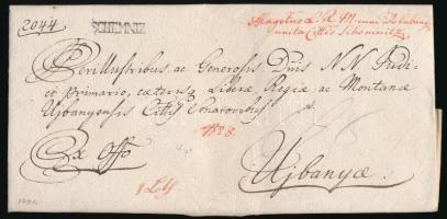 1791 Ex offo SCHEMNIZ - Ujbanya