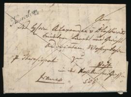 1838 Franco levél Neuverbasz - Pest