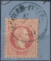 """MAGYAR-ITTEBE"" Austria-Hungary-Serbia postmark ""MAGYAR-ITTEBE"""