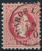 "Austria-Hungary-Romania postmark ""MAROS LU(DOS)"" ""MAROS LU(DOS)"""