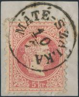 """Austria-Hungary postmark """"MÁTÉ-SZÁLKA"""" """"MÁTÉ-SZÁLKA"""""""
