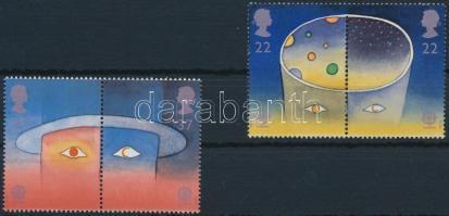 1991 Europa Cept, Űrutazás sor párokban Mi 1337-1340