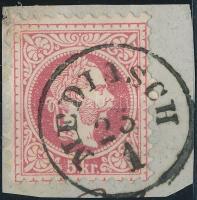 "Austria-Hungary-Romania postmark ""MEDIASCH"" ""MEDIASCH"""