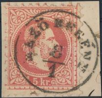 """Austria-Hungary postmark """"MEZÖ BERÉNY"""" """"MEZÖ BERÉNY"""""""
