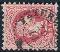 """PETER(WARDEIN)"" Austria-Hungary-Serbia postmark ""PETER(WARDEIN)"""