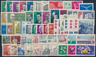 1960-1961 19 db klf kiadás, közte teljes sorok, párok