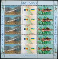 Fishes mini sheet, Halak kisív